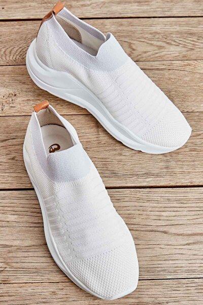 Beyaz Kadın Sneaker K01673050582