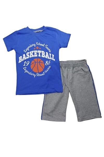 Basketbol Baskılı T-shirt&kapri Takım