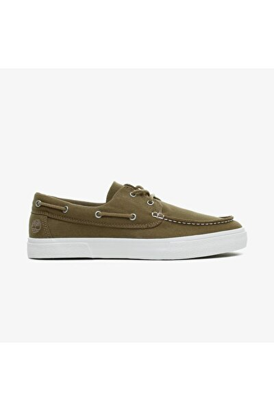 Erkek Yeşil Bağcıklı Sneaker Unionwharf2.0ek+ 2eyeboat