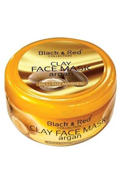 Black & Red Argan Yağlı Killi Yüz Maskesi 400 Gr.
