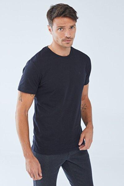 Erkek  Baskılı Basic T-shirt