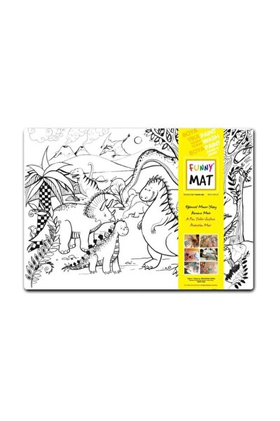 Funny Mat Dinozorlar Çağı 48x33.5 Cm.
