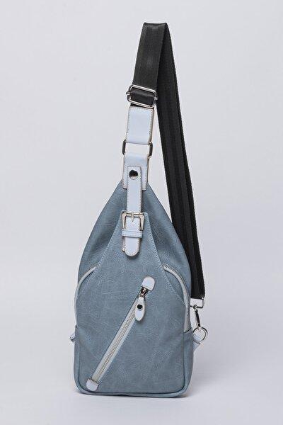 Kadın Mavi Body Çanta
