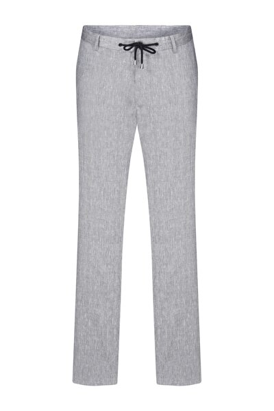 Erkek Gri Relax Pantolon
