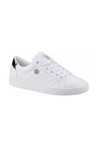TIGGY 1FX Beyaz Kadın Havuz Taban Sneaker 100910788