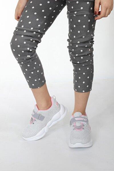 Kız Çocuk Pembe Pukka Collection Triko Yüksek Taban Ayakkabısı