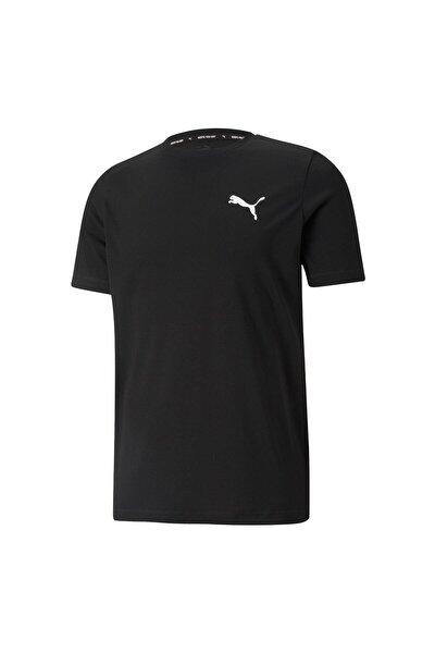 ACTIVE SMALL LOGO TEE Siyah Erkek T-Shirt 101085576