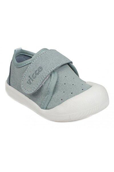 Unisex Mavi Bebek  İlk Adım  Ayakkabı