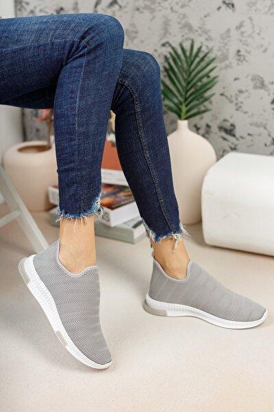 Gri Çorap Sneaker