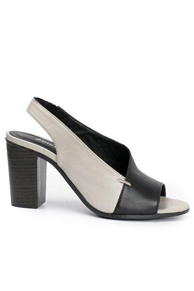 Ozdorothy Siyah Kadın Sandalet