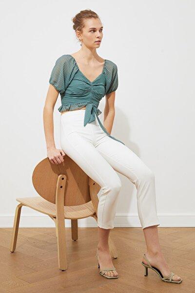 Mint Crop Bluz TWOSS20BZ0332