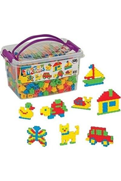 500 Parça Tik Tak Lego Çıtçıt Lego Seti