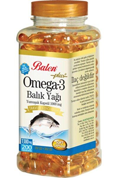 Omega-3 Plus+ Balık Yağı 200 Kapsül