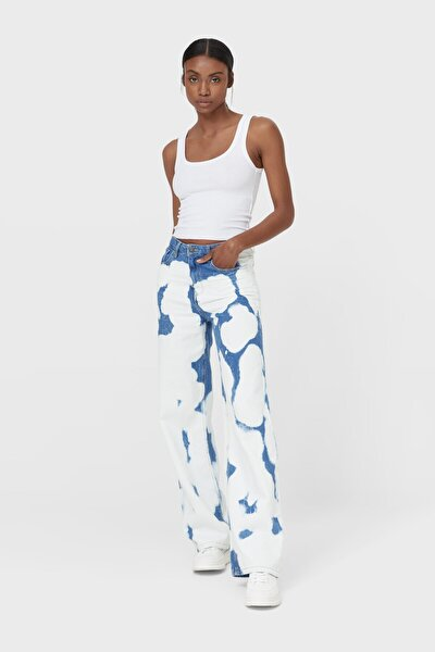 Kadın Beyaz Yüzücü Tipi T-Shirt 07036180