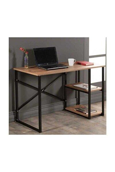 Çalışma Masası Ceviz Renk Bilgisayar Ve Laptop Masası Çalışma Ofis Masası