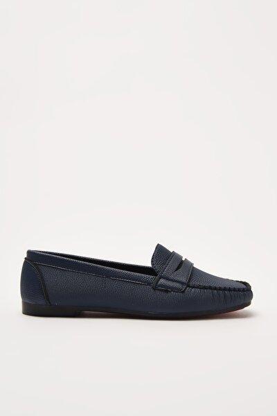 Lacivert  Loafer Ayakkabı 01AYY212290A680