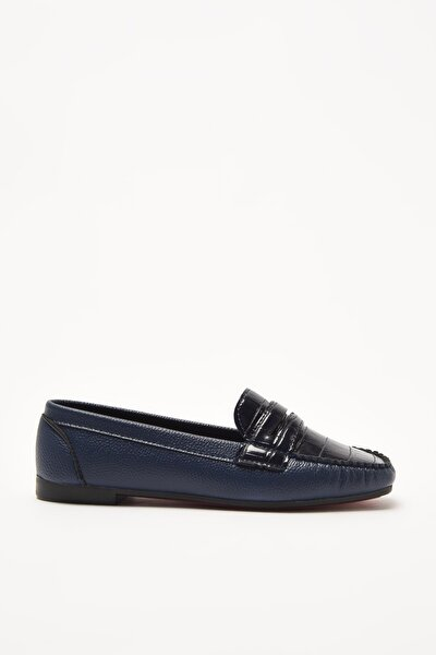 Lacivert  Loafer Ayakkabı 01AYY212280A680