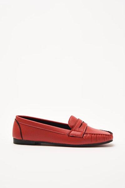 Kirmizi  Loafer Ayakkabı 01AYY212290A750