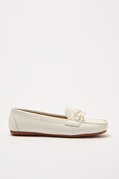 Beyaz  Loafer Ayakkabı 01AYY212310A900