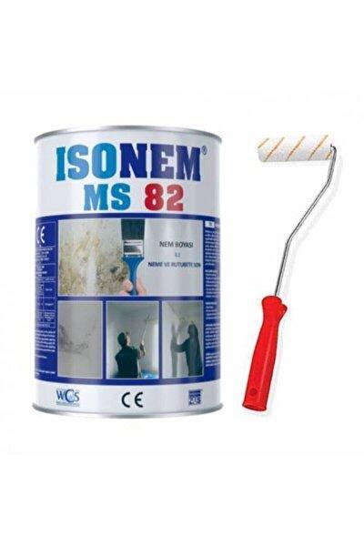 Ms82 Nem Rutubet Boyası Beyaz 1 Kg + Parmak Rulo