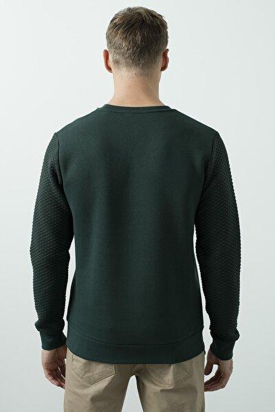 Erkek Yeşil Core Sweatshirt