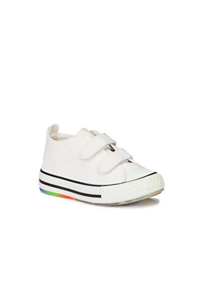 Pino Unisex Çocuk Beyaz Spor Ayakkabı