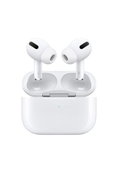 Beyaz Wireless Logolu Ve Seri Numaralı A+ Kalite Ios Ve Android Uyumlu  Pro Kulaklık