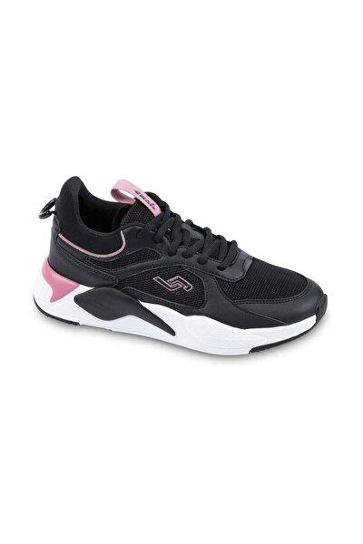 Kadın Siyah Pembe Spor Ayakkabı 24772