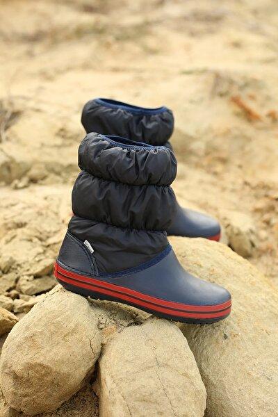 Kadın Lacivert Paraşüt Çizme