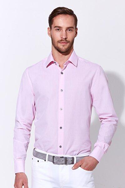 Erkek Pembe Business Gömlek