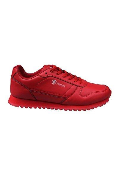 Kadın Bağcıklı Kırmızı Sneaker Ayakkabı 202-1554zn 150