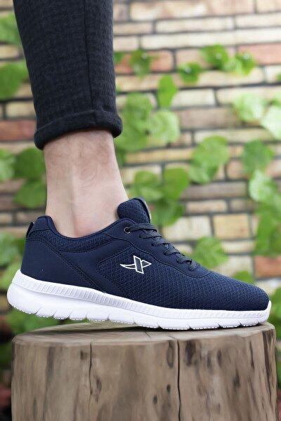 Lacivert Beyaz Unisex Sneaker 0012065