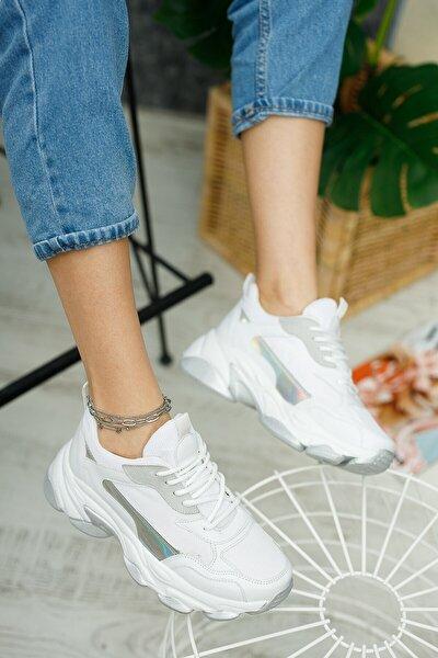 Lipa Kalın Taban Bağcıklı Spor Ayakkabı