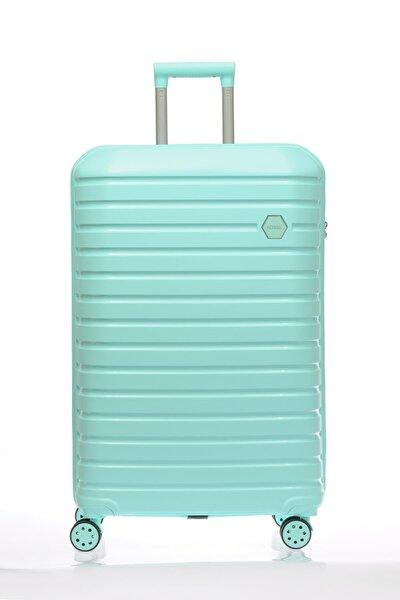 Unisex Yeşil Orta Boy Valiz & Bavul Fsy1137