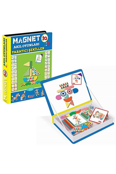 Manyetik Magnet Iq Akıl Oyunları Yaratıcı Şekiller Manyetik Puzzle