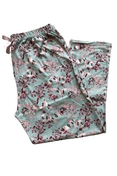 Kadın Battal Pijama Altı %100 Pamuk