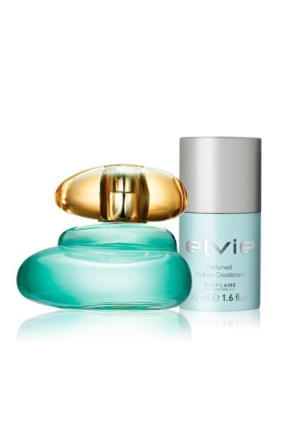 Elvie Kadın Parfümü 50 Ml Edt + Roll-on Seti