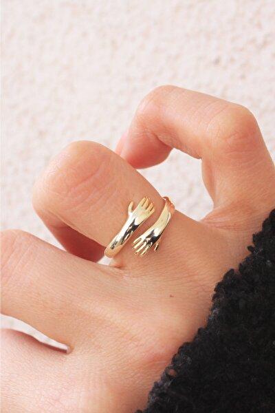 925 Ayar Gümüş Hug (sarılma Yüzüğü)