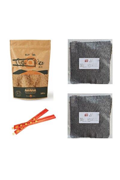 Suşi Pirinci + Doğal Sushi Nori Set