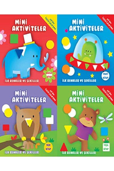 Parıltı Mini Aktiviteler Seti (ilk Renkler Ve Şekiller) 4 Kitap