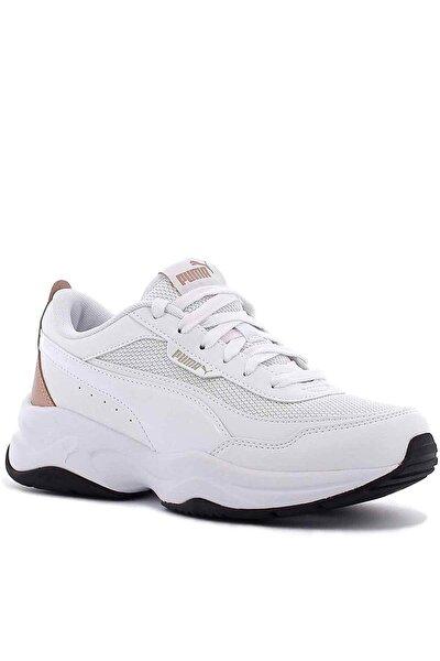 Kadın Beyaz Clia Mode Metallic Günlük Spor Ayakkabı 373303 03