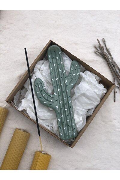 Tasarım Kaktüs Tütsülük | Pastel Yeşil