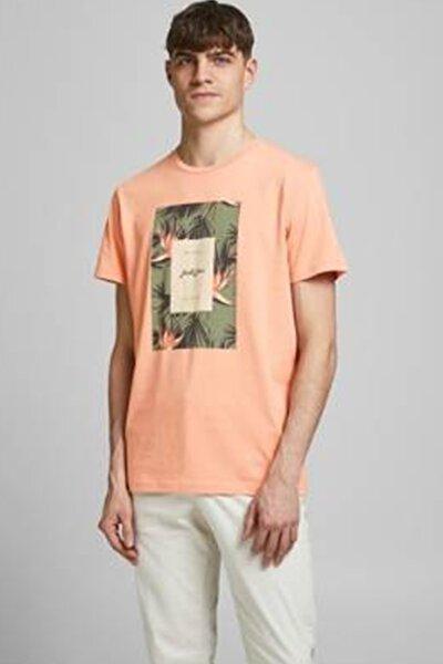 Erkek Somon O Yaka T-Shirt 12186330