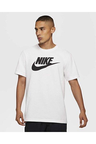 BV0622-100 Sportswear Beyaz Unisex T-shirt