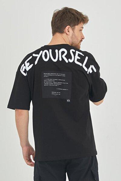 Siyah Erkek T-shirt 1kxe1-44793-02