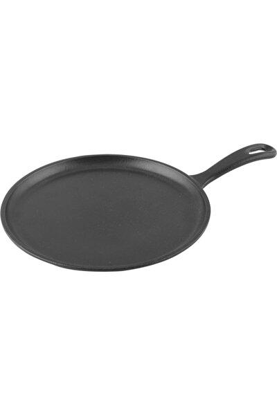 Krep/pizza/pancake Tavası Yuvarlak Metal Saplı Çap 26 Cm
