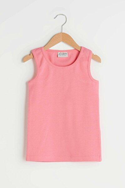 Kız Çocuk Fuşya H4K T-Shirt