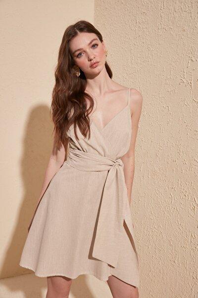 Taş Kuşaklı Elbise TWOSS19XN0008
