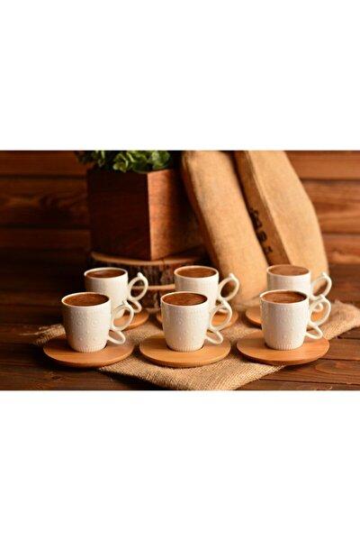 Kısmet 6 Kişilik Kahve Fincan Takımı