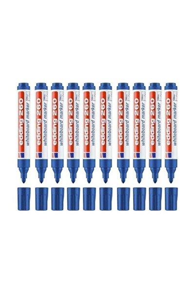 260 Yazı Tahtası Kalemi 10 Lu Kutu Kırmızı